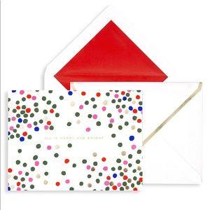 🆕🎀 Kate Spade ♠️ Holiday Card Set